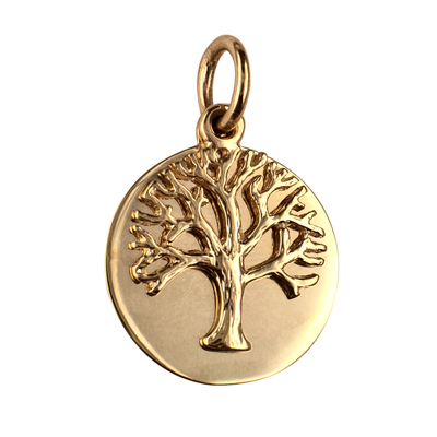 P3760 - Floating Tree of Life with 21mm Disc Pendant