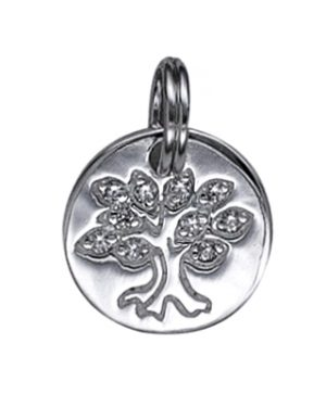 Tree Of Life- Sterling Silver 12mm Disc