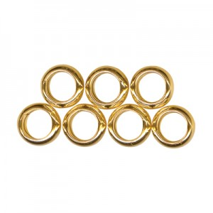 7 Lucky Rings Gold Charms