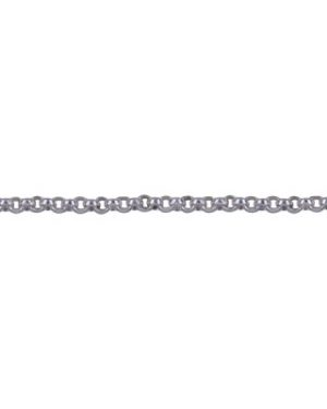 SS Italian Diamond Cut Rolo Chain