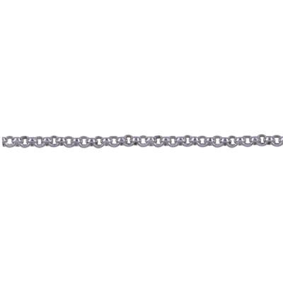 SS Italian Diamond Cut Rolo Chain