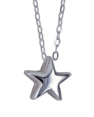 Sterling Silver Star Pendant